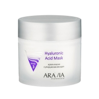 Фото Aravia Professional Hyaluronic Acid Mask - Аравия Профешинал Гиалуроник Асид Крем-маска супер увлажняющая, 300 мл